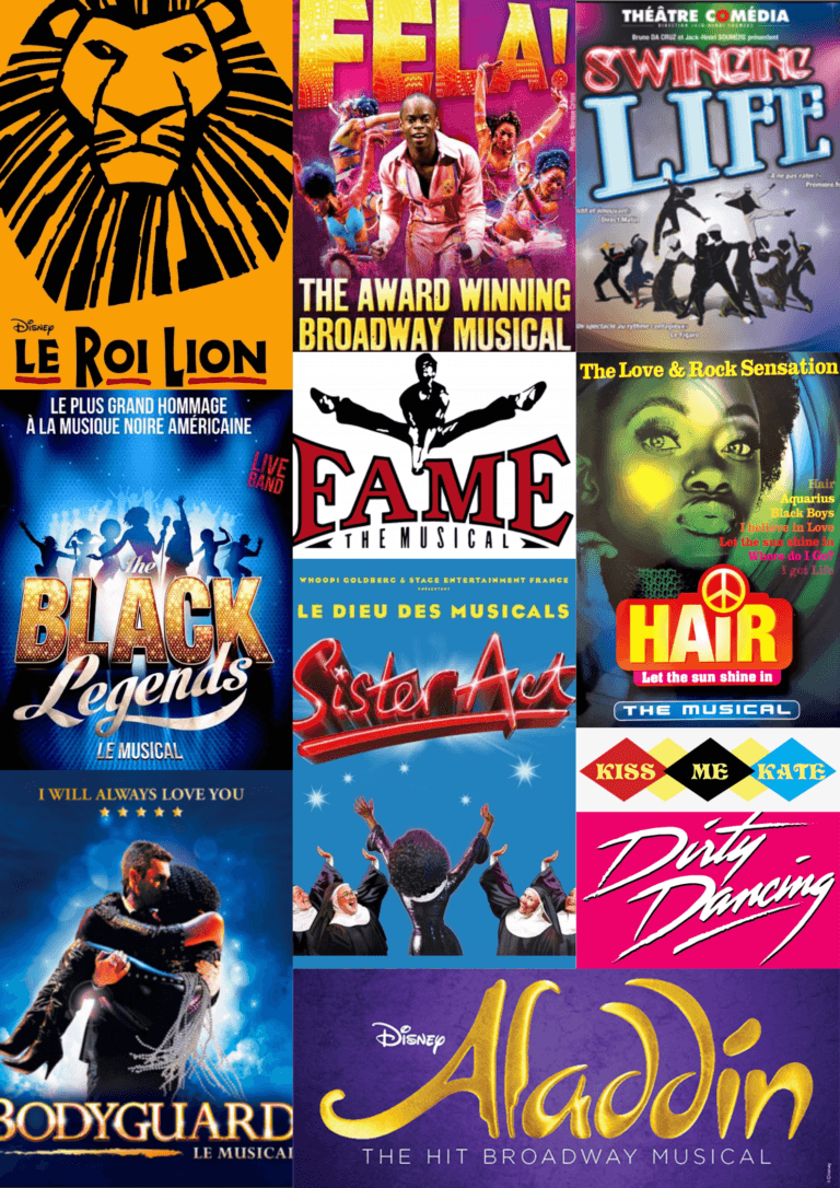 Patchwork posters musicals